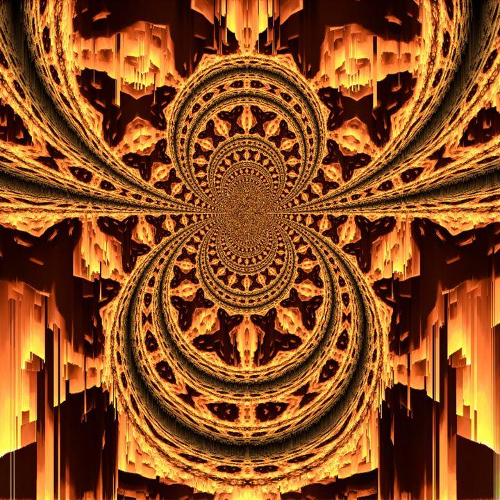 Into the Temple - P & M Art