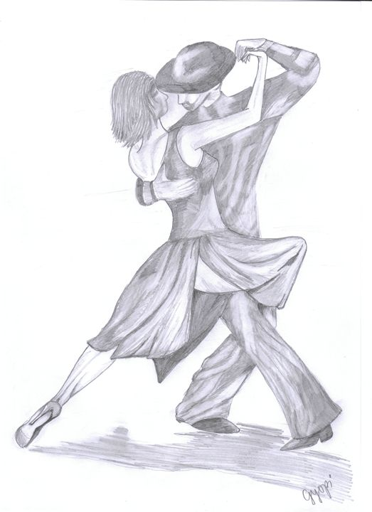 Tango - Pencil Drawings