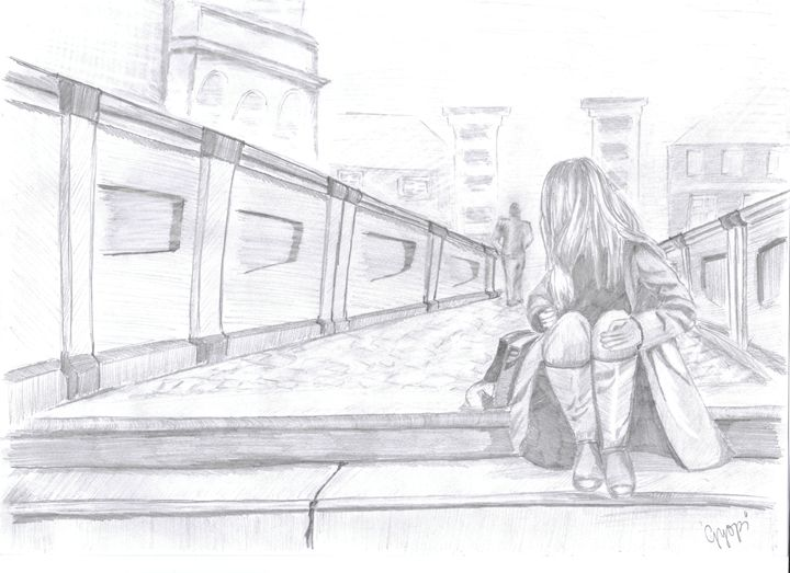 The stranger - Pencil Drawings