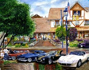 Car show at Frankenmuth