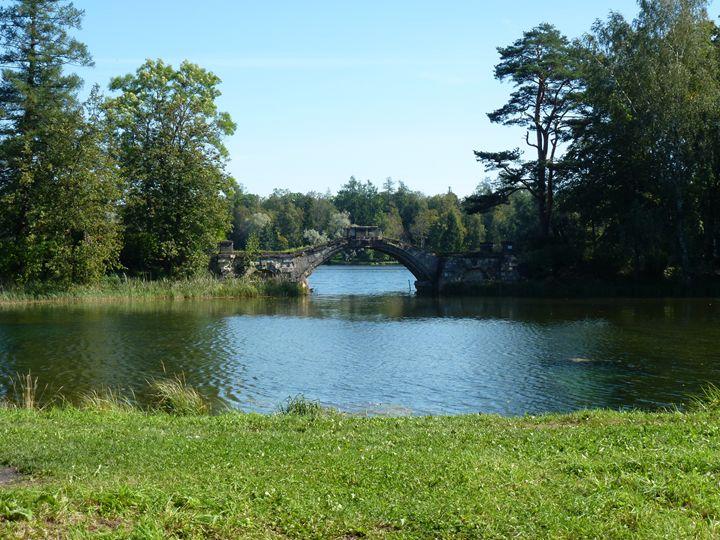 Гатчинский парк, Горбатый мост - Peter Pinchuk