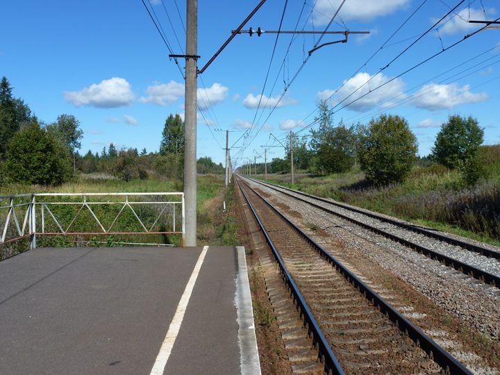 Железнодорожная даль - Peter Pinchuk