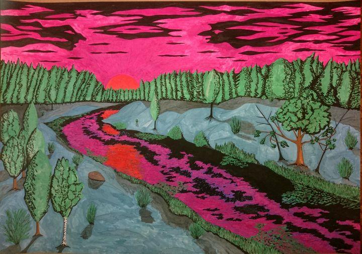 Закат - Peter Pinchuk