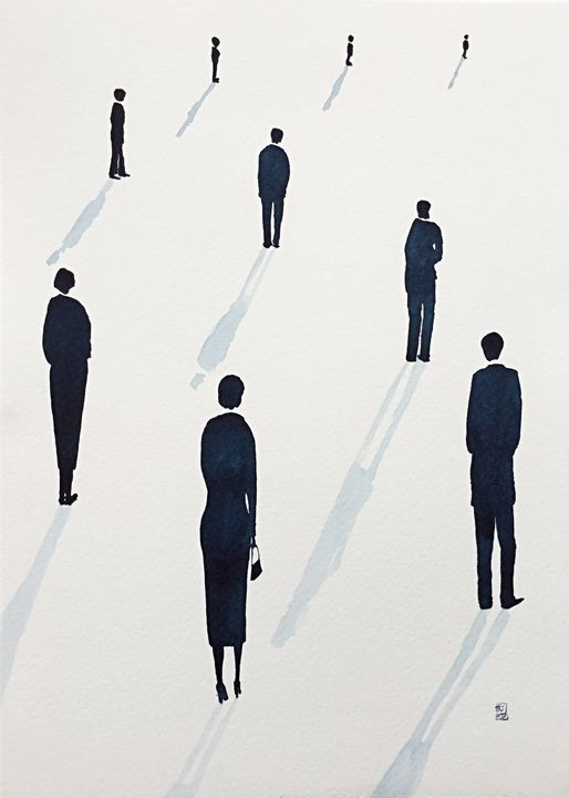 Social Distancing (xxii) - Hilarygjart