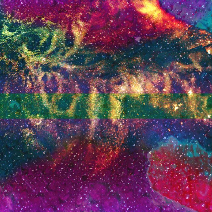 Galaxy drops - Metazoa Art