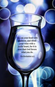 Blue Beauty and Bible Verse