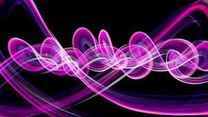 Colorful Waves, Twirls, and Streaks