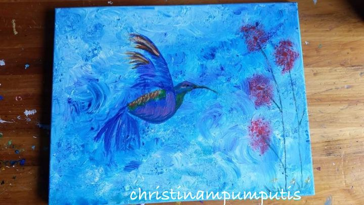 Fly and be free - Christina M. Pumputis Art