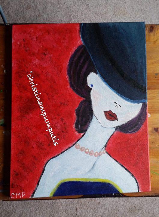 Out on the town - Christina M. Pumputis Art