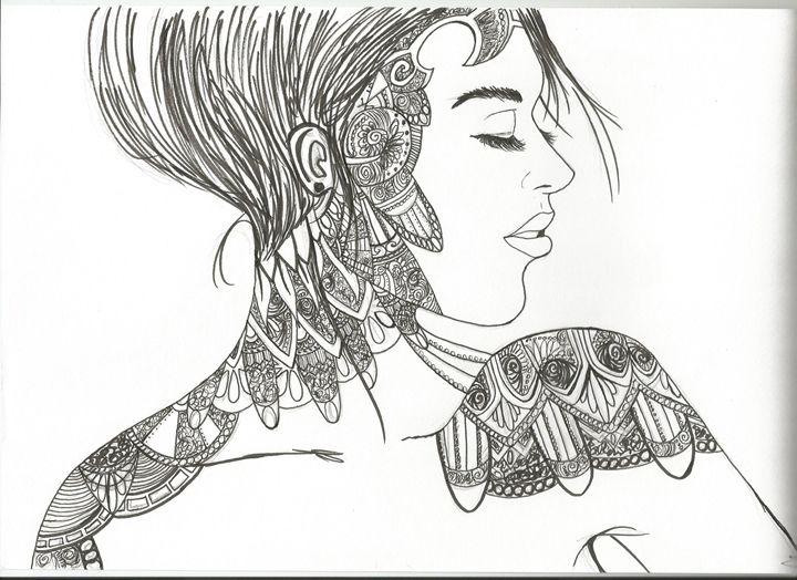 Dripping in Detail - Black Kat Art