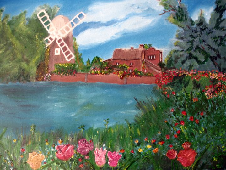 At the lake - Joy Azer's Gallery