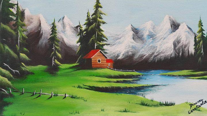 Mountain landscape - Constantin