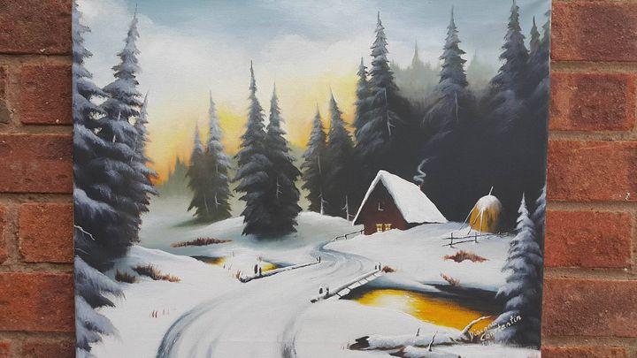 Winter evening - Constantin