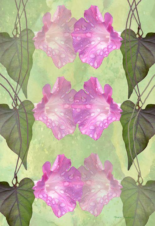 Repeated Morning Glories - RosalieScanlonPhotography&Art