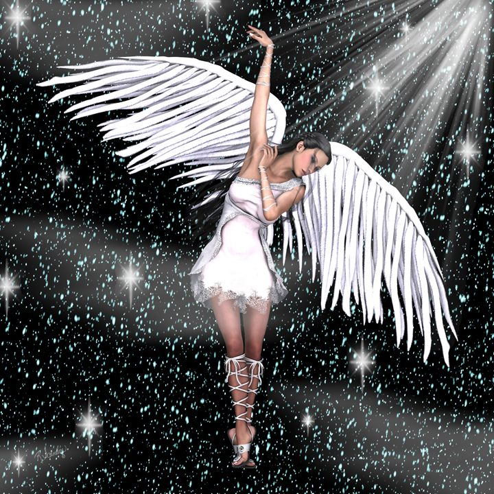 Angel in a Starry Sky - RosalieScanlonPhotography&Art