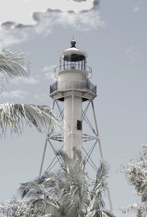 Sanibel Lighthouse Edited - RosalieScanlonPhotography&Art