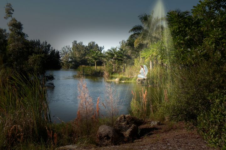 Angel at the Lake - RosalieScanlonPhotography&Art