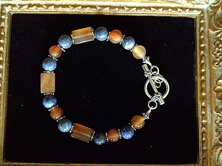 Blueberries and honey bracelet - Gem4Edu