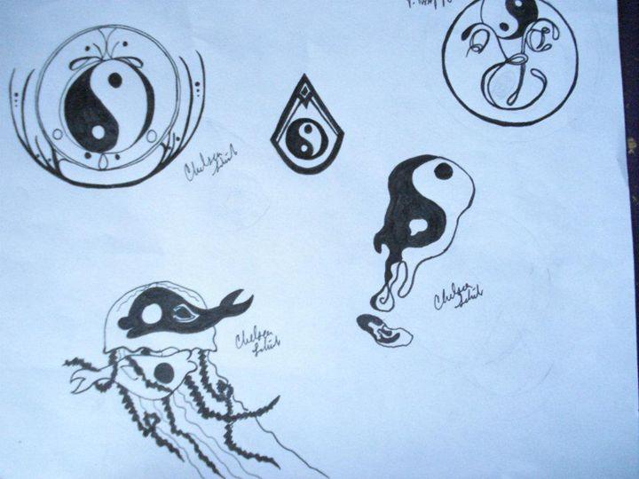 yin and yang - Chels