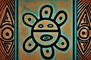 Taino Sol (Sun) - Embracing Art even in the rain