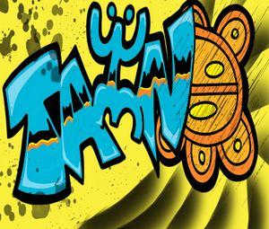 Taino Graffiti - Embracing Art even in the rain