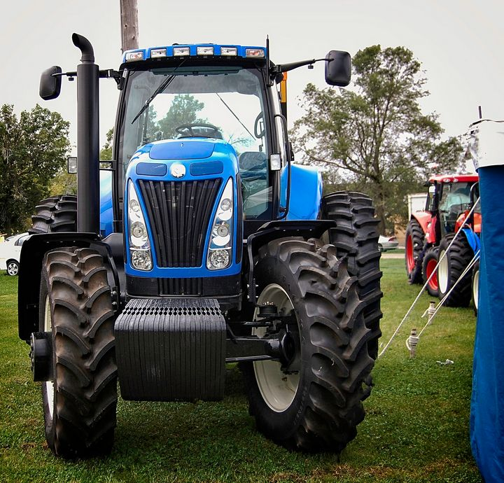 Early Morning Tractor - Rich