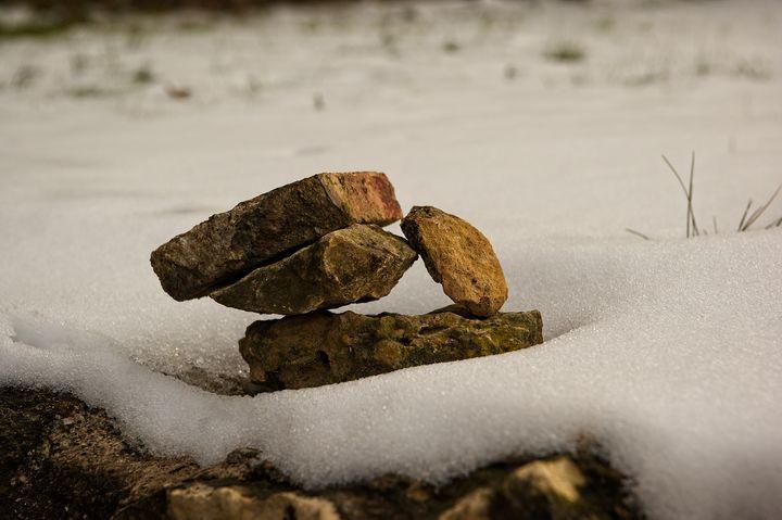 Winter's Rockpile - Rich