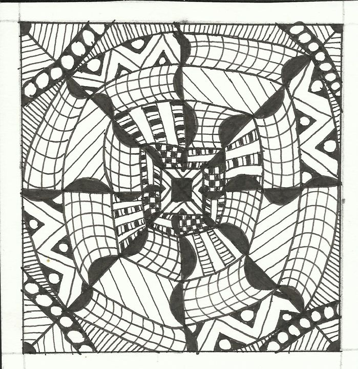 zentangle 5 - Zentangle motives