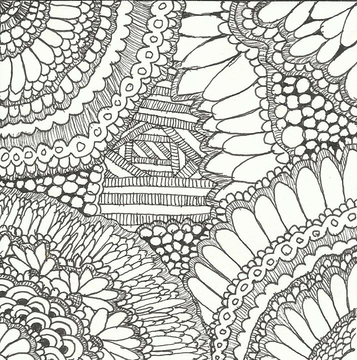 zentangle 4 - Zentangle motives