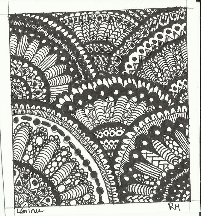zentangle 3 - Zentangle motives