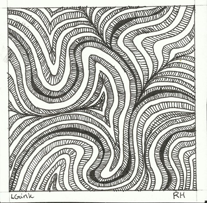 zentangle 1 - Zentangle motives
