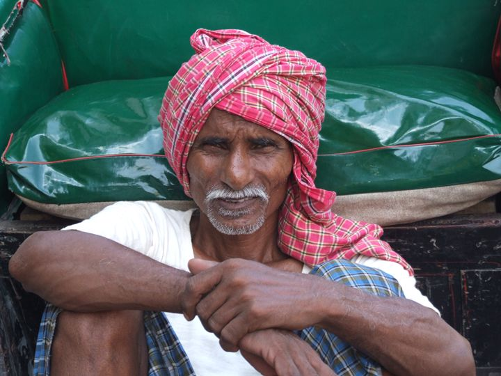 Rickshaw wallah - Indiaskapie