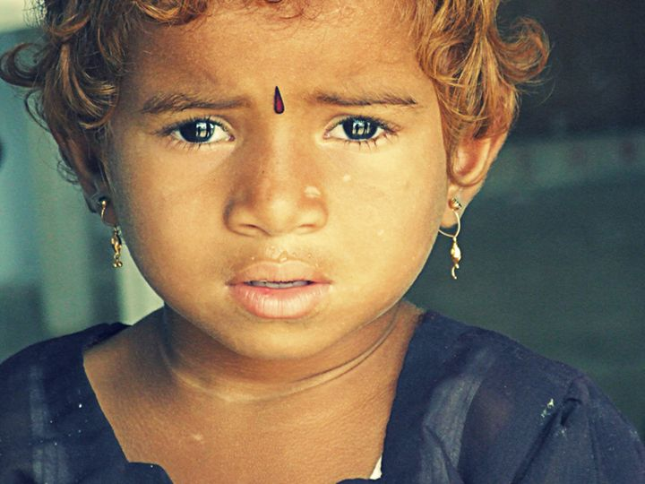 Hindu girl, Hyderabad - Indiaskapie