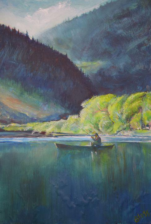 Enchanted Lake - Blossart