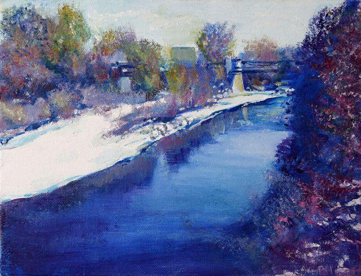 South Platte River in Winter - Blossart