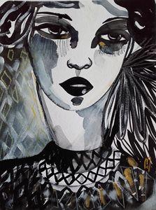 Portrait Woman Beauty Face