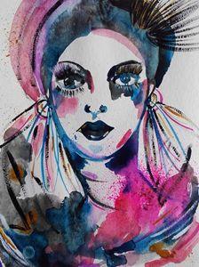 Woman Portrait Femme