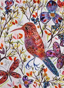 Bird Painting Oiseau