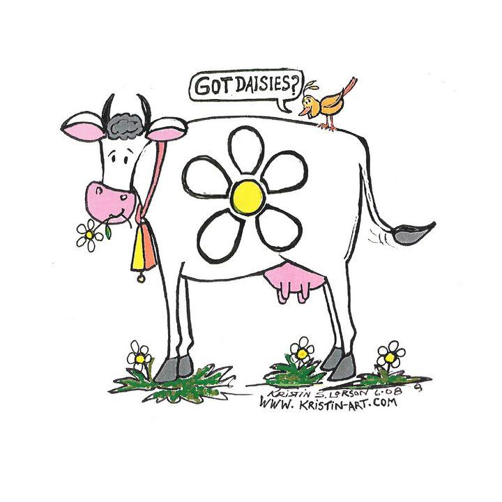 Got Daisies? - Kristinart Personality Portraits By Kristin Lorson