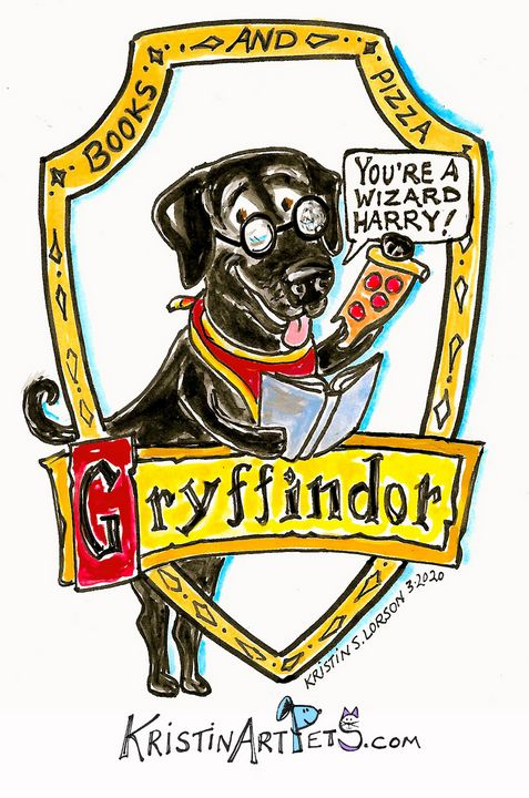 Griffindor! - KristinArtPets and more By Kristin Lorson