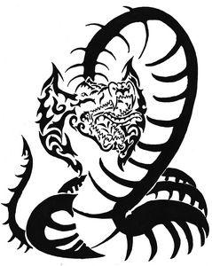 Tribal Snake - M.RArts