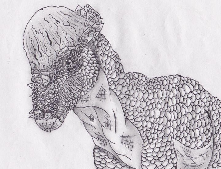 Pachycephalosaurus - M.RArts