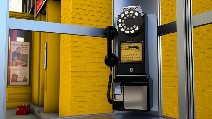 Telephone booth - Serpi & Co