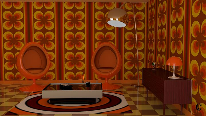 1970s Living room - Serpi & Co
