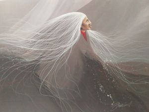 """Yesterdays fog"" by Frank Howell"