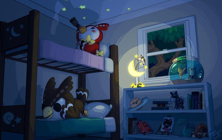 Bedtime - Sketchanie