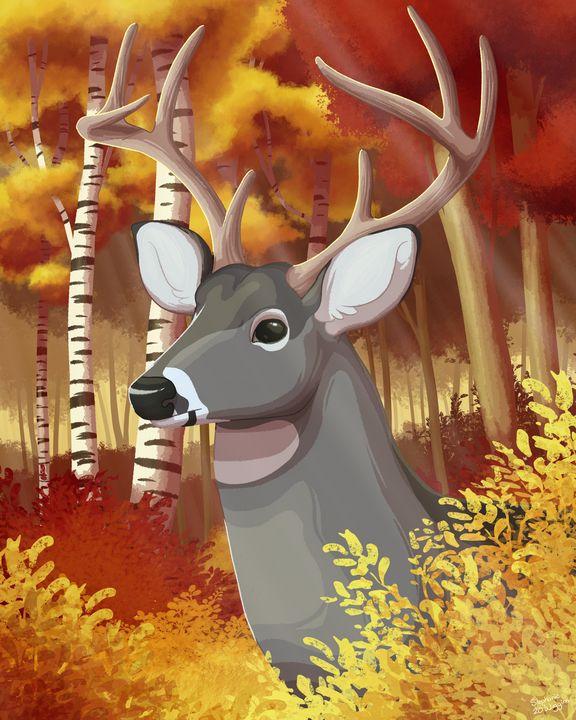 Autumn Days - Sketchanie