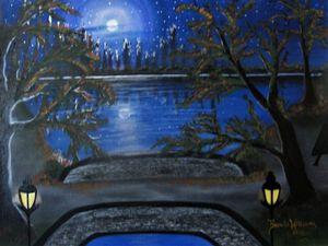 Moonlit Park (Lover's Lane)
