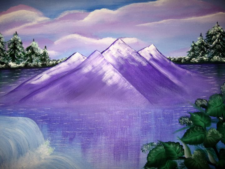 Icy lake - Brenda Williams