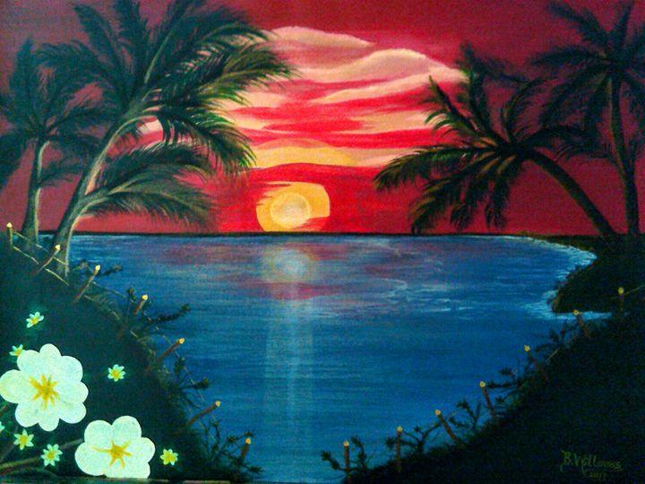 Hawaiian Sunset - Brenda Williams